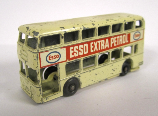 Toy double-decker bus